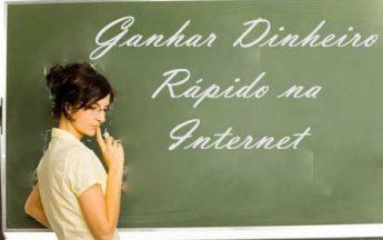 Ganhar dinheiro rápido na internet