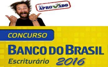 Concurso Banco do Brasil lança edital para Escriturário em 2016